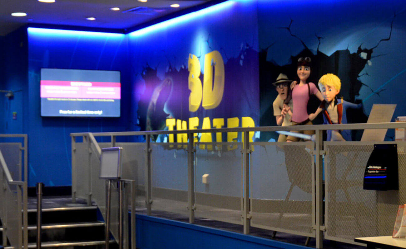 Exhibit 3D Theatre