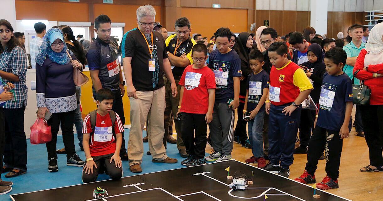Petrosains Robot Challange