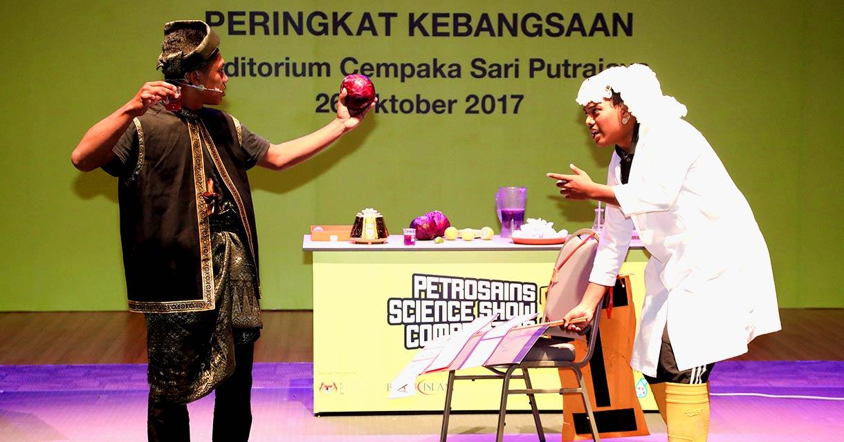 Petrosains Science Show Competition