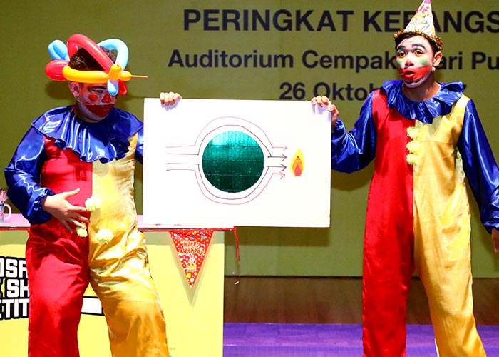 Petrosains Science Show Competition