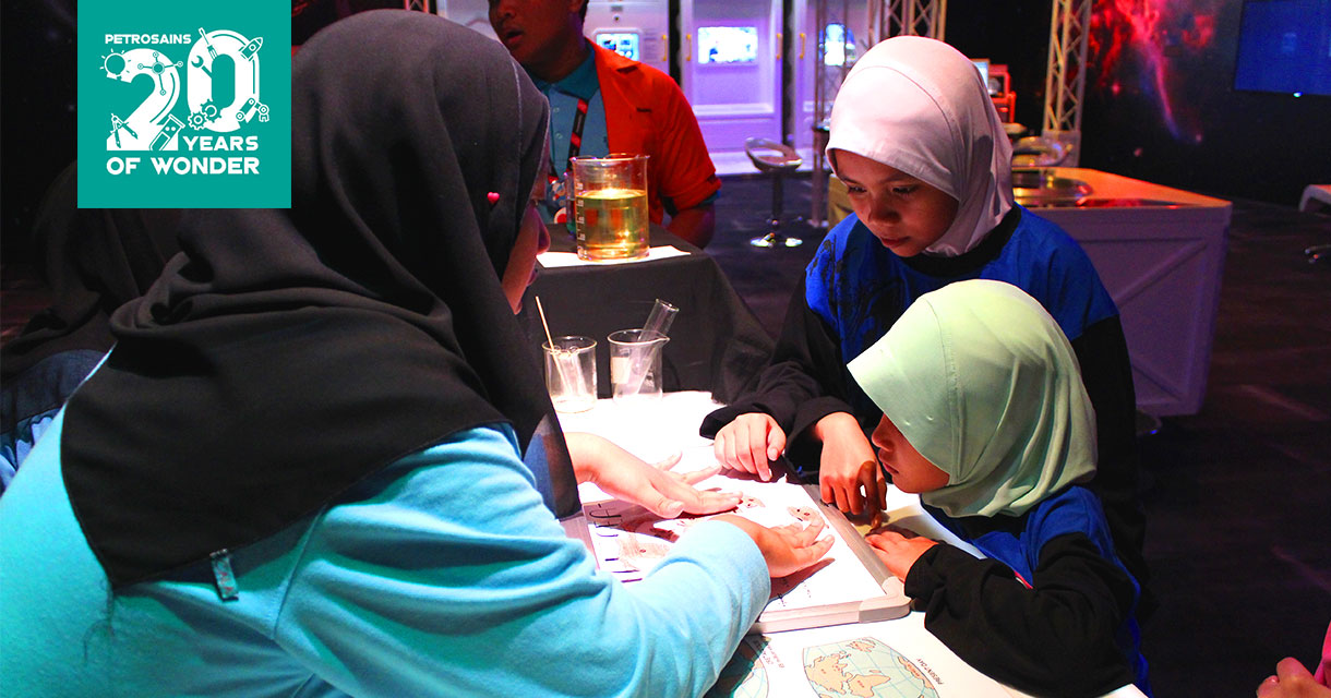 Petrosains Science Show And Mini Shows